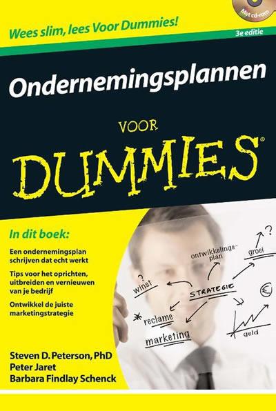 Zzp boek: Ondernemingsplan schrijven voor Dummies