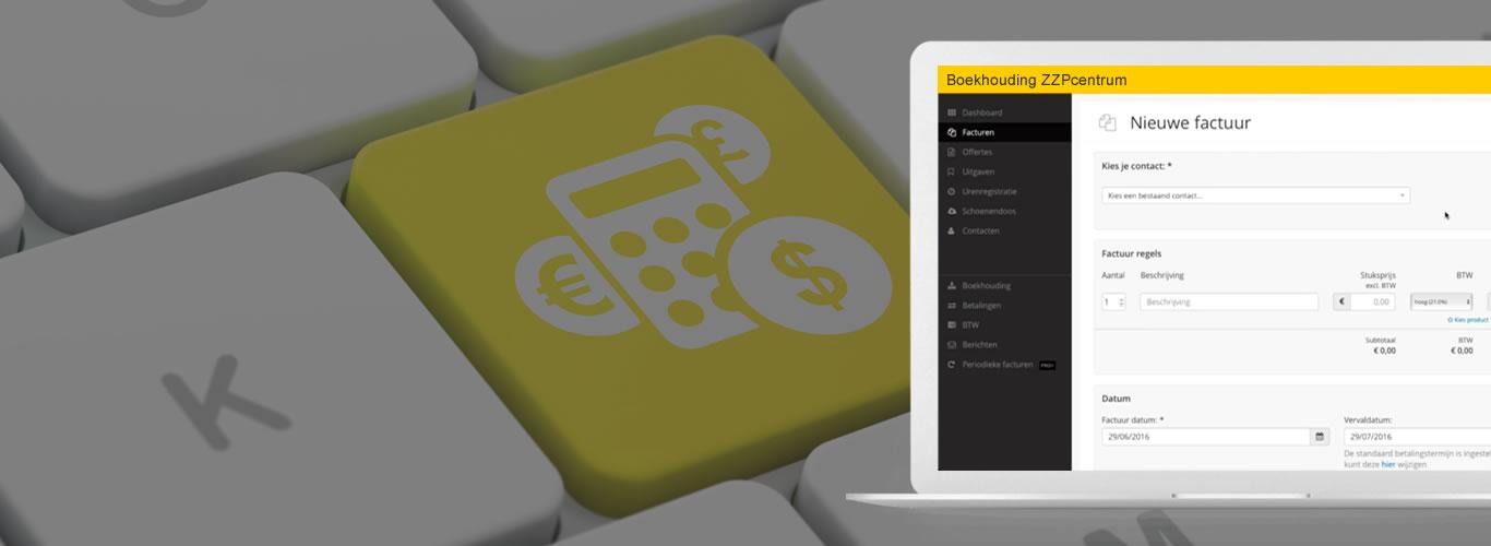 De zzp boekhouding met online boekhoudprogramma